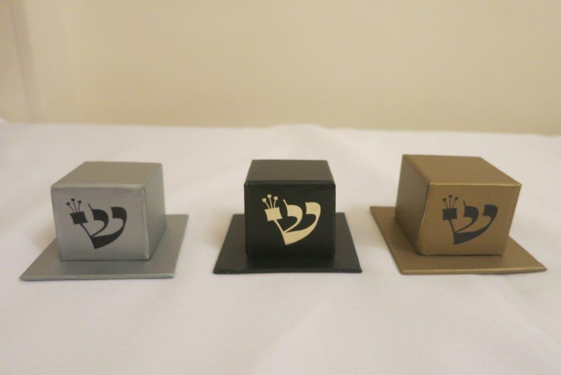 Two Piece Tefillin Box, Available In Silver & Black (Optional Personalization)