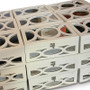 Exquisite Wood Mirrored Welcome Box, Available in White or Gold