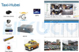 Hubei Taxi Surveillance Project with Hikway MDVR Products