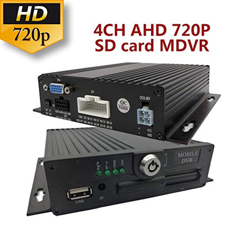 HIKWAY AHD 720P 4CH MOBILE DVR