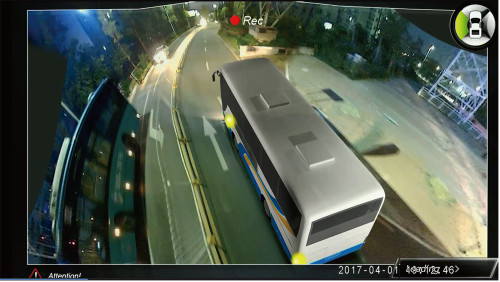 HIKWAY Bus 3D Vision System