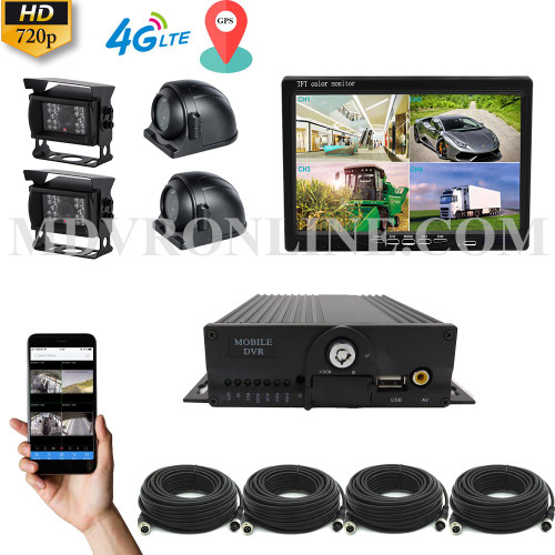 HIKWAY Vehicle CCTV Kit with 10inch Monitor
