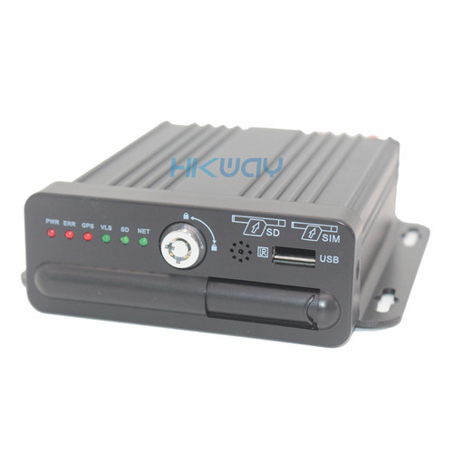 Hikway 4ch 720P Mobile DVR Front Panel