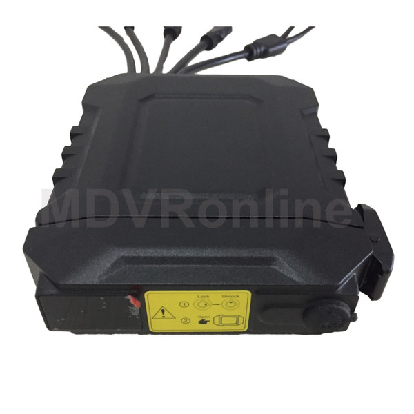 Waterproof MDVR 4CH 720P Mobile DVR with GPS and 4G