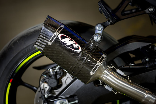 2017 GSX-R1000 Slip On System With Stainless Steel Tubing