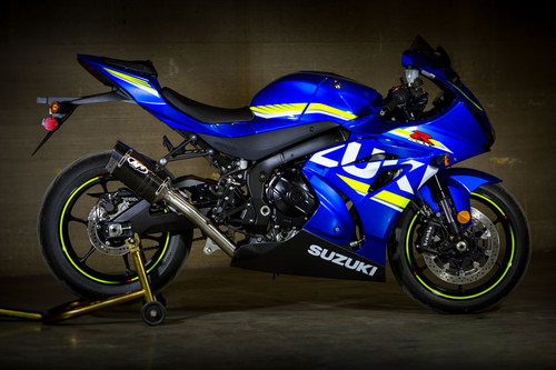 2017 GSX-R1000 Full Race System With Titanium Midpipe
