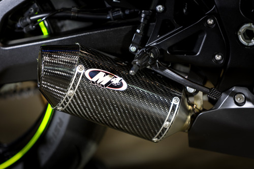 2017 GSX-R1000 Street Slayer Full System with Full Titanium Tubing and CARBON Muffler