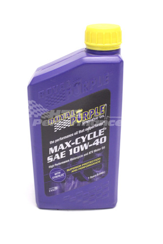 MAX-CYCLE® Synthetic Motor Oil 10W-40 1QT