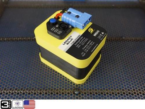 Legacy 7.5AH Baja PLUS Battery w/ Universal Ring Terminal Harness