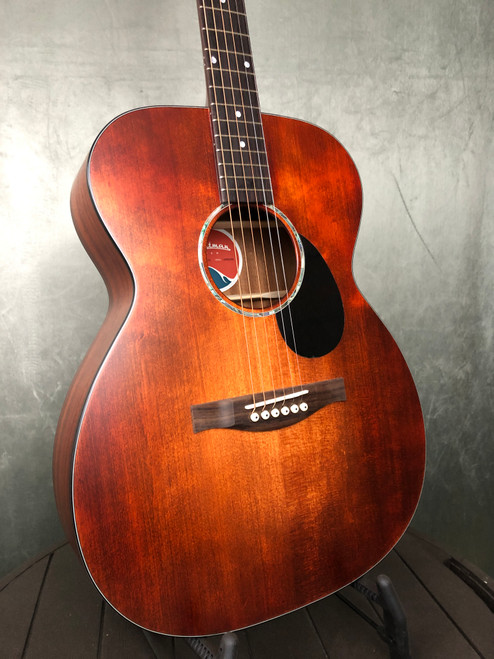 Eastman PCH OM-CLA | Front view | Acoustic Corner | Black Mountain, NC
