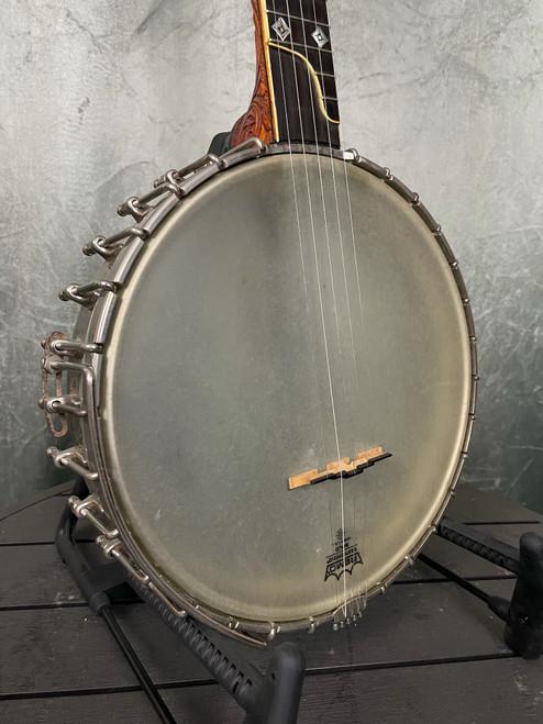 A.J White open-back banjo | Front View | Acoustic Corner | Black Mountain, NC