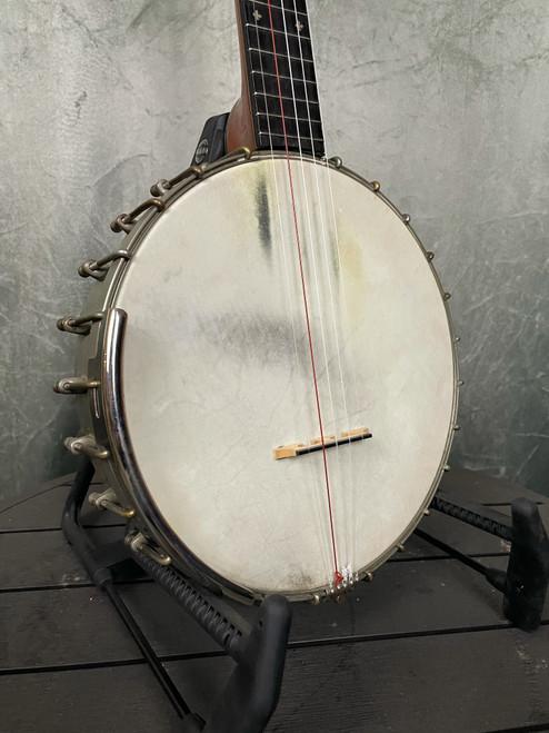 W.E. Stratton Banjo | Front View | Acoustic Corner | Black Mountain, NC