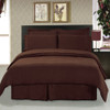 Chocolate-Soft-Easy-Care-100%-Microfiber-Bed-in-a-Bag-Bedding-Set