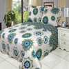 Cool Julia Fashion Floral Design Quilt Set Oversized Lightweight Mini Sets Image