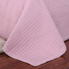 Luxury Checkered Quilted Wrinkle-Free 2-3 Piece Quilted Coverlet Set