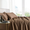 Taupe-Bamboo-Bed-Sheet-Sets