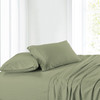 100% Cotton Sateen Bed Sheet Set 300 Thread Count Damask Striped