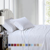 Pure Cotton 600 Thread Count Sheets Damask Striped Bed Sheet Set