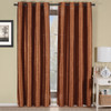Geneva Lined Energy Saving Black-Out Grommet Curtain Panel Single-Rust