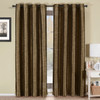 Geneva Lined Energy Saving Black-Out Grommet Curtain Panel Single-Coffee
