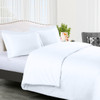 White- 300-Thread-count-100%-Cotton-Solid-Duvet-Cover