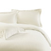 Ivory-100%-Cotton-300-Thread-Count-Striped-Duvet-Cover-Sets