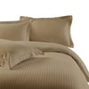 Taupe-100%-Cotton-300-Thread-Count-Striped-Duvet-Cover-Sets