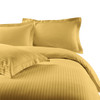 Gold-100%-Cotton-300-Thread-Count-Striped-Duvet-Cover-Sets