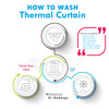 How to wash  thermal curtain Panels Info-Graphic 3
