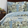 Elena Green Forest Quilt Bedding Oversized Reversible Quilt Set / Detailed Image