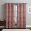 Lenox Thermal Room-Darkening Grommet Top Curtain Panels (Set of 2) -Rust