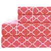 100%-Cotton-Percale-Meridian-Sheets-Set-Coral