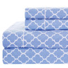 100%-Cotton-Percale-Meridian-Sheets-Set-Periwinkle