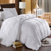Goose Solid 500tc: 100%cotton 500 Thread count solid shell, 750 fill power, Baffle box construction with 2 inches gusset, Winter 56 ounces fill , Extra-Warmth