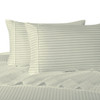 Ivory-Pillowcase-Sets-500-Thread-Count-100%-Cotton-Striped