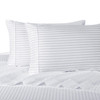 White-Pillowcase-Sets-500-Thread-Count-100%-Cotton-Striped