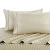 Linen-Pillowcase-Sets-500-Thread-Count-100%-Cotton-Striped