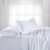 White-Split King Dual King Adjustable Bed Sheets Bamboo/Cotton