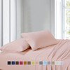 Split Adjustable Dual King Sheets 100% Cotton 300 Thread count-Striped