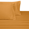 Gold-Split-Adjustable-Dual-King-Sheets-100-Cotton-300-Thread-Count-Solid