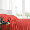 Coral-Split-California-King-Cal-King-100-Bamboo-Viscose-Bed-Sheet-Set