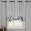 Soho Triple-Pass Thermal Insulated Blackout Curtain Top Grommet-Silver