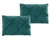 Teal-Oxford-Luxury-Soft-Pinch-Pleated-Pillow-Shams