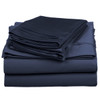 Navy-Triple-Pleated-600-Thread-Count-Sheets