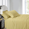 Gold-Luxury Cal King Cotton Sheets 600 Thread Count Damask Striped Bed Sheet Set