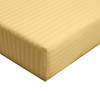 Queen-fitted-sheet-stripe-300-thread-count-gold