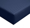 Calking-fitted-sheet-stripe-300-thread-count-navy