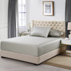 Gray Flex King ( Top Split) Eucalyptus 600 Thread Count Fitted Sheet