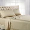 Taupe Top Split Calking Eucalyptus 100% Woven Tencel Lyocell 600TC Sheet Set