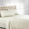 Ivory Top Split Calking Eucalyptus 100% Woven Tencel Lyocell 600TC Sheet Set